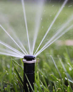 low water usage sprinklers