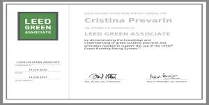 leed project certifications
