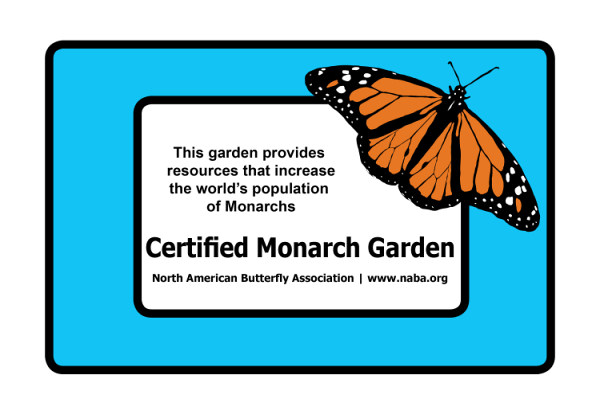 certified monarch garden