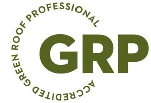 accredited green roof professional logo