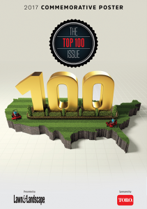 Top 100 Issue, Lawn and Landscape