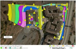 GIS mapping for new irrigation systems