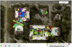 GIS mapping for water usage in landscaping