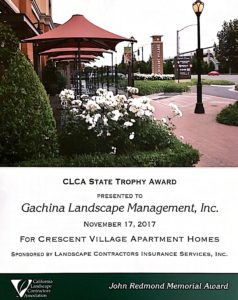 award winning landscaping for apartment complexes bay area