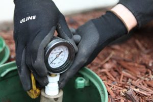 irrigation pressure regulation