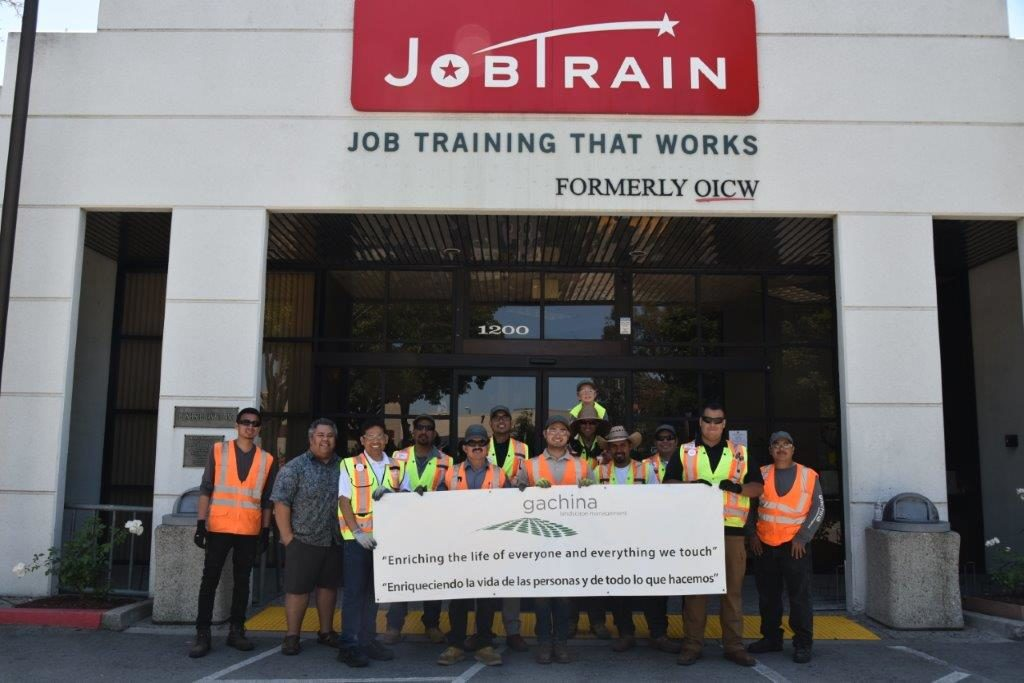 Gachina Landscape Management has partnered with JobTrain in East Palo Alto since 1992